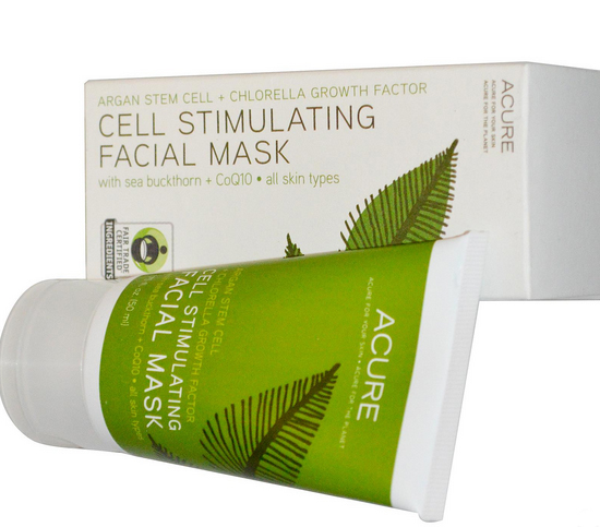 омолаживающая маска Acure Organics, Cell Stimulating Facial Mask