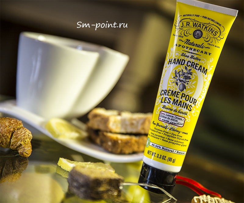 J R Watkins, Shea Butter Hand Cream, Lemon Cream отзывы