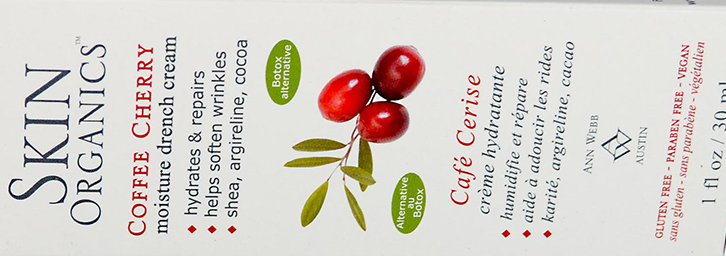 Skin Organics Coffee Cherry